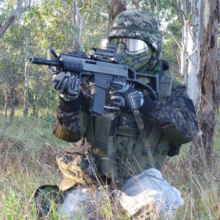 Use of unauthorised firearms at paintball fields