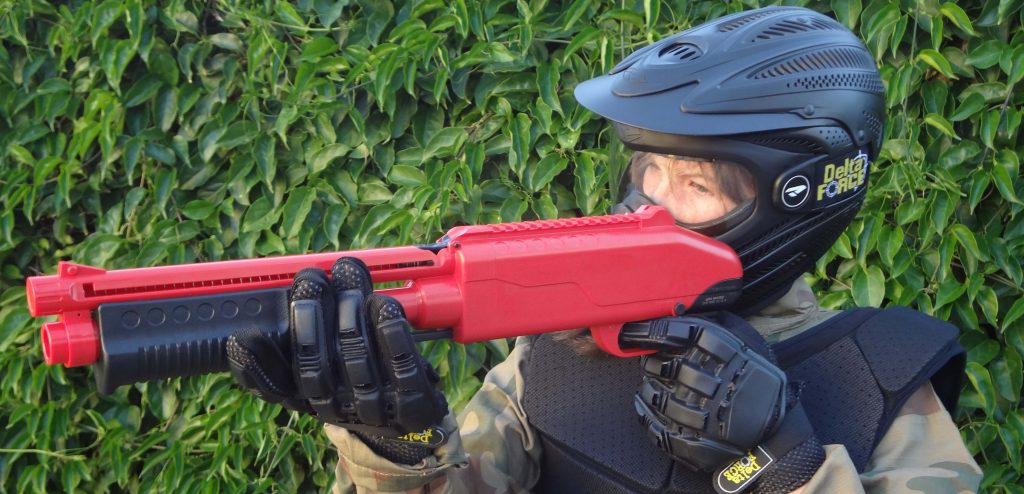 Paintball variation specifically designed for children